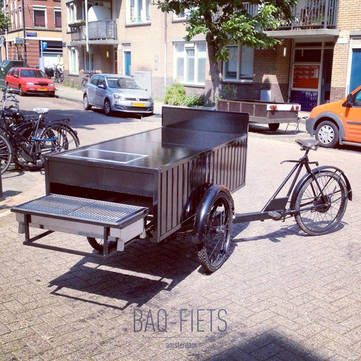 De BBQ-bakfiets van Nederland: BAQ-fiets
