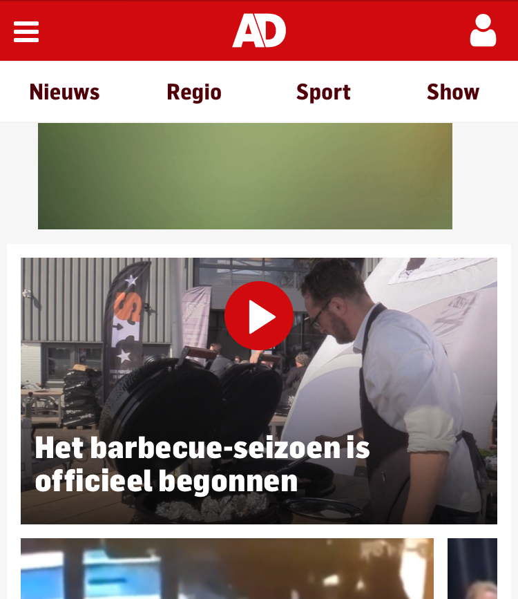 Joeri op AD.nl