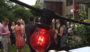 BBQ Bruiloft in de achtertuin