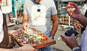 Fabulous forty – birthday-BBQ op straat