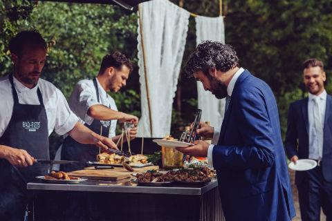 BBQ-chef Joeri @ bruiloft in Zeeland