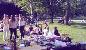 Grillen in het Westerpark