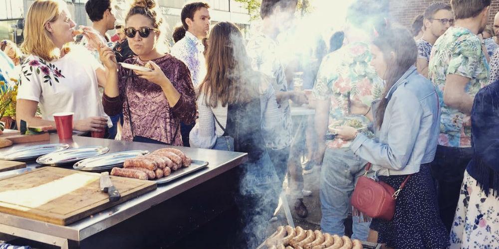 BBQ-catering @ bedrijfsfeesten & evenementen