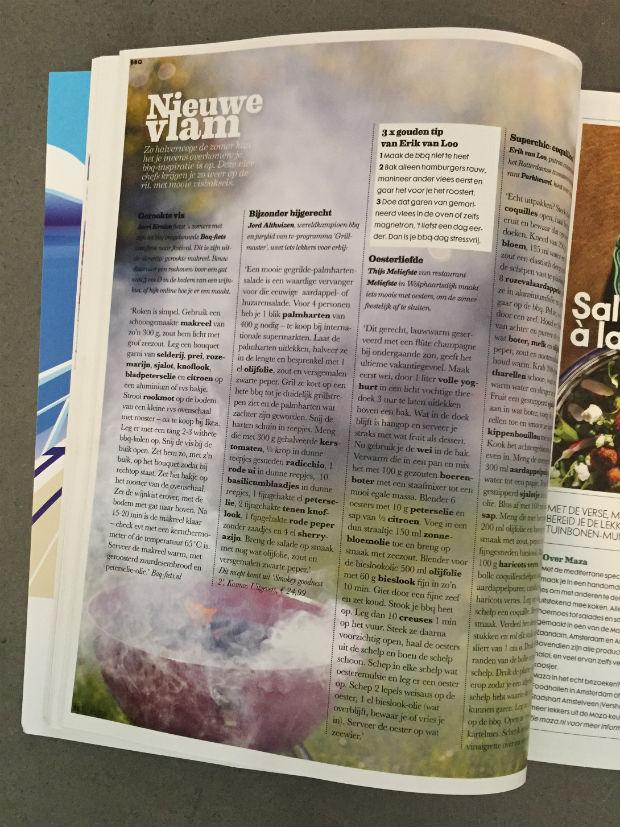 Vis BBQ-tips in ELLE Eten