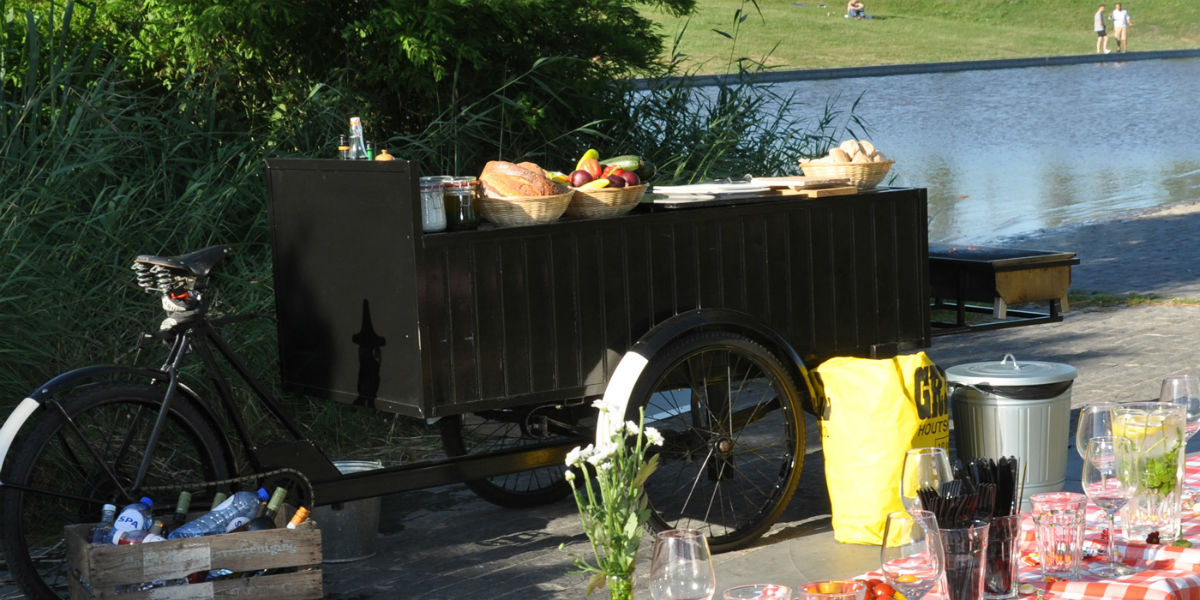 BBQ-fiets Westerpark Amsterdam