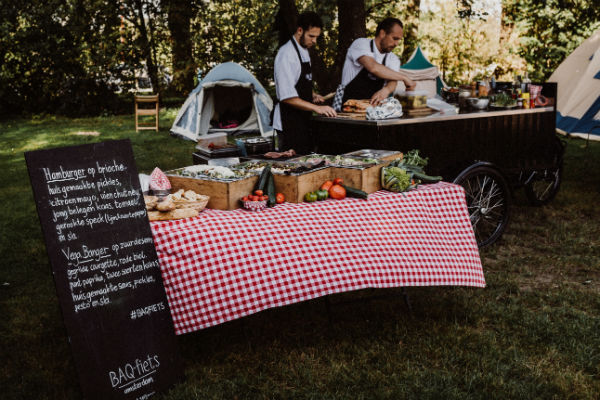 Bruiloft BBQ-catering