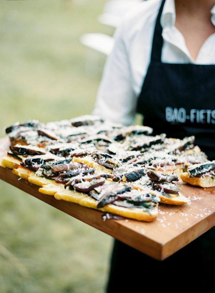 Het BBQ menu van BAQ fiets culinaire BBQ cateraar