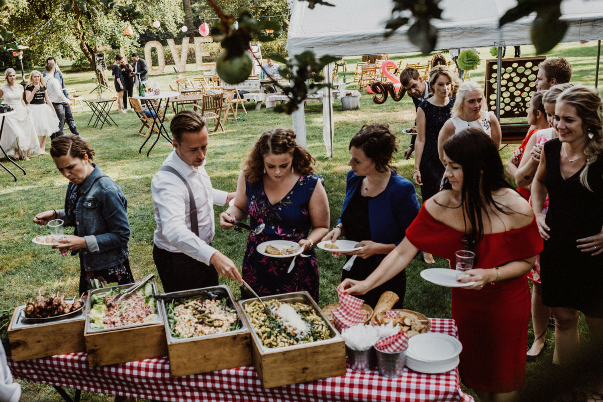Salade-buffet BBQ