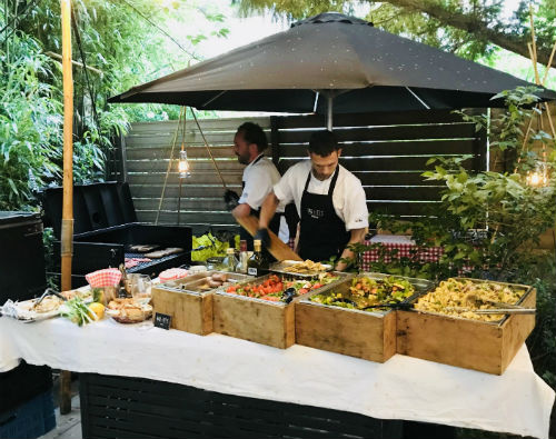 BBQ-catering op locatie