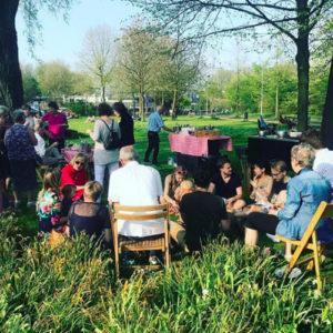 BBQ in een park te Amsterdam