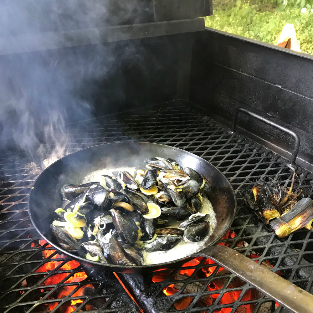 Mosselen bereiden op BBQ - tips en recept