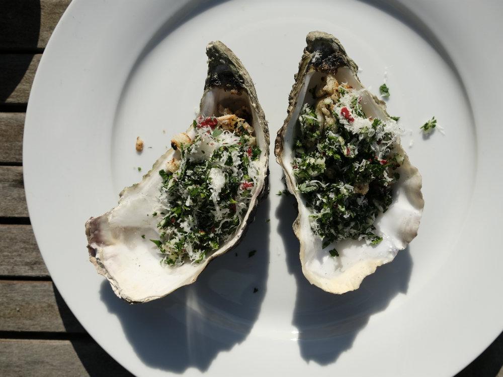 Recept: oesters met gratin van de BBQ