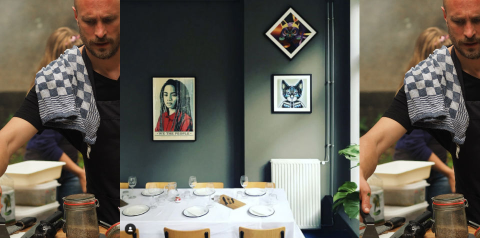 De Werkplaats van BAQ-fiets - private dining Amsterdam West