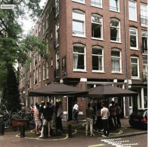 Coronaproof prive-feest in Amsterdam bij BAQ-fiets de Werkplaats (privé-locatie)