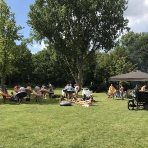 Coronaproof BBQ in het park door BAQ-fiets